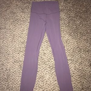 Full-length align legging from lululemon in purple
